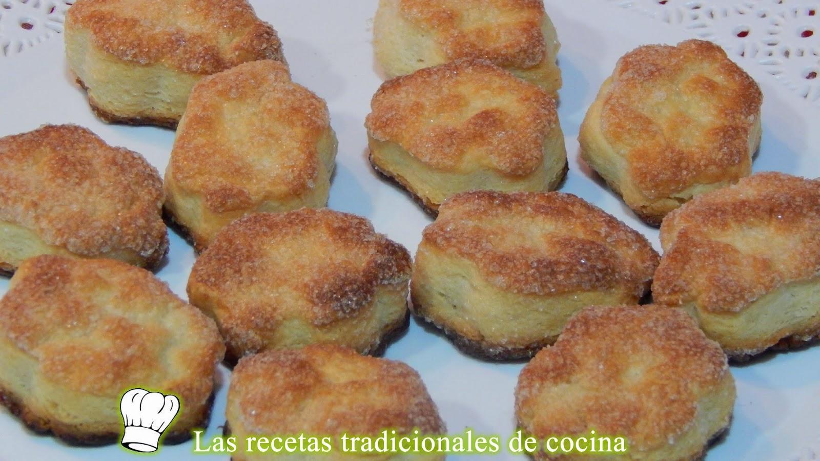 galletas de queso y mantequilla