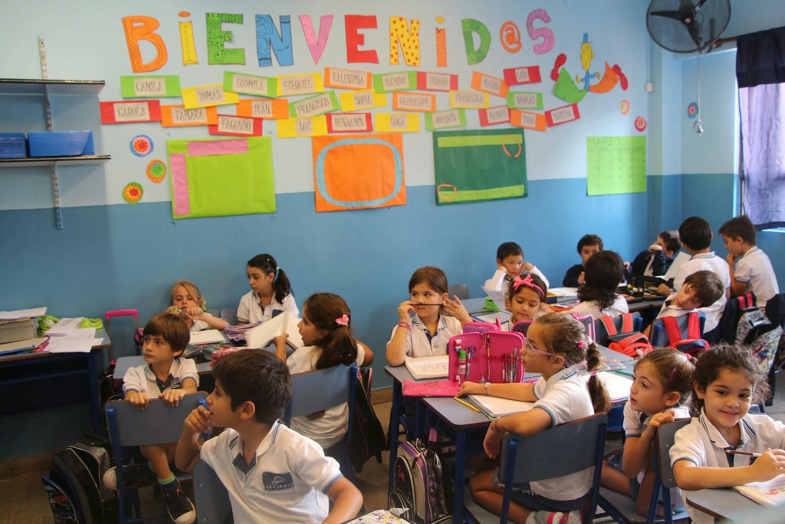 2º B - Primer día de clases en el aula - 2014