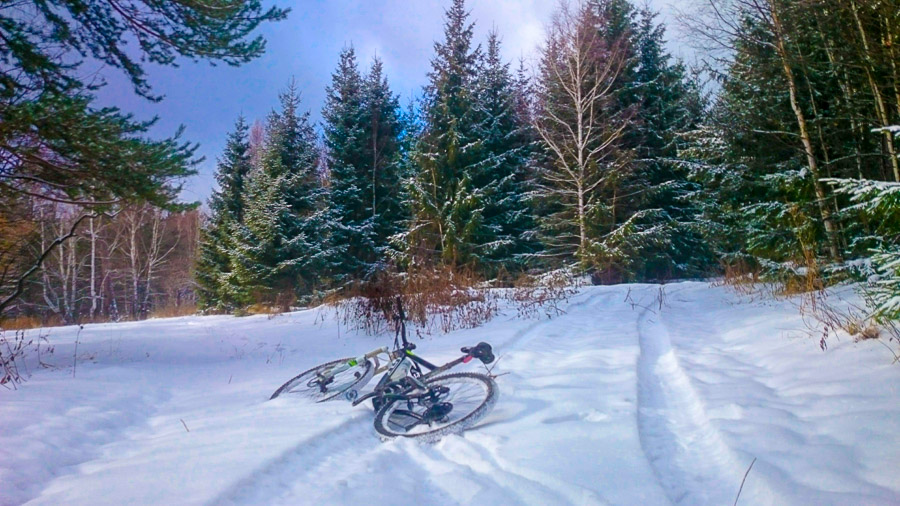 Первый зимний Крутой Ключ