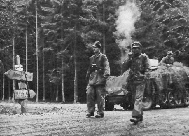 Image result for German ww2 soldiers in the ardennes