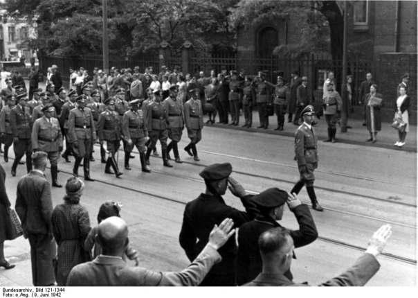 Похороны Гейдриха Видео