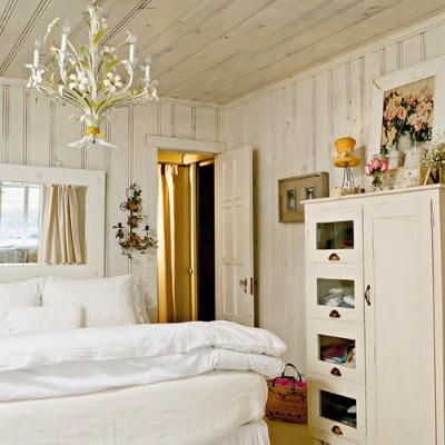 Knotty pine love french country cottage for French country wall paint colors