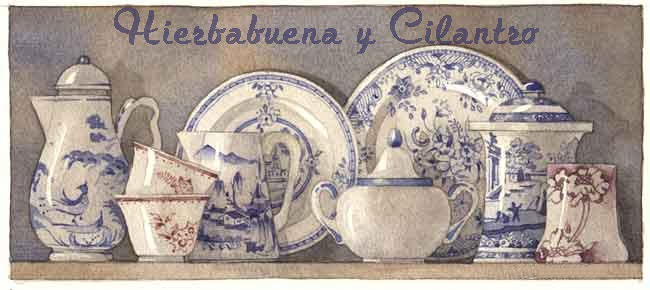 Hierbabuena y Cilantro
