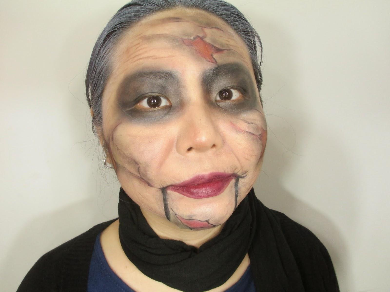 Mary shaw makeup tutorial face painting character makeup mary shaw makeup tutorial face painting character makeup baditri Choice Image