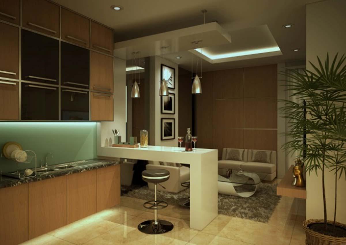 Desain interior ruangan apartemen