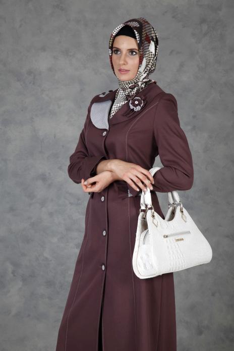 Hijab turque 2012 en manteau et ceinture