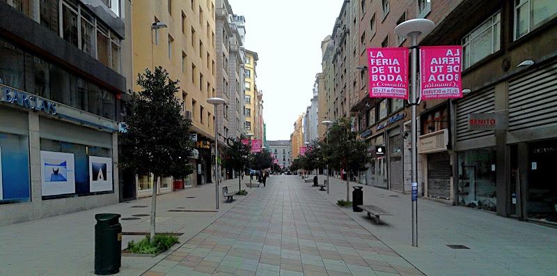Calle Juan de Herrera en Santander