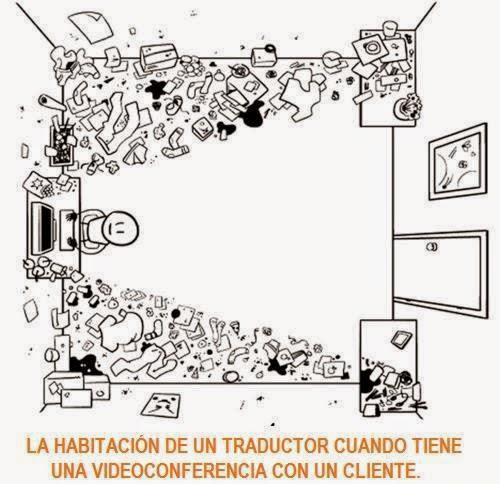 conferencia de un traductor