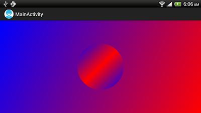 LinearGradient example