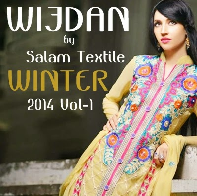 Wijdan by Salam Textile Winter Collection 2014
