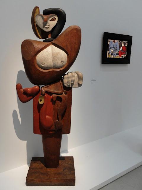 sculpture Femmes bois Le Corbusier Joseph Savina