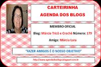 Carteirinha Agenda dos blogs