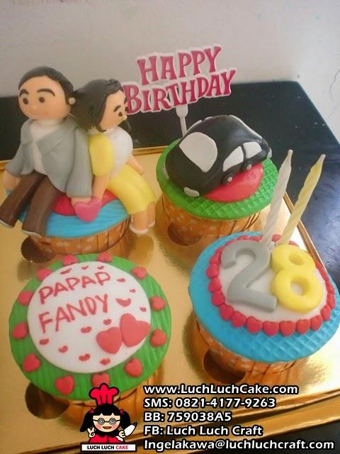 Birthday Cupcake Mobil Untuk Suami