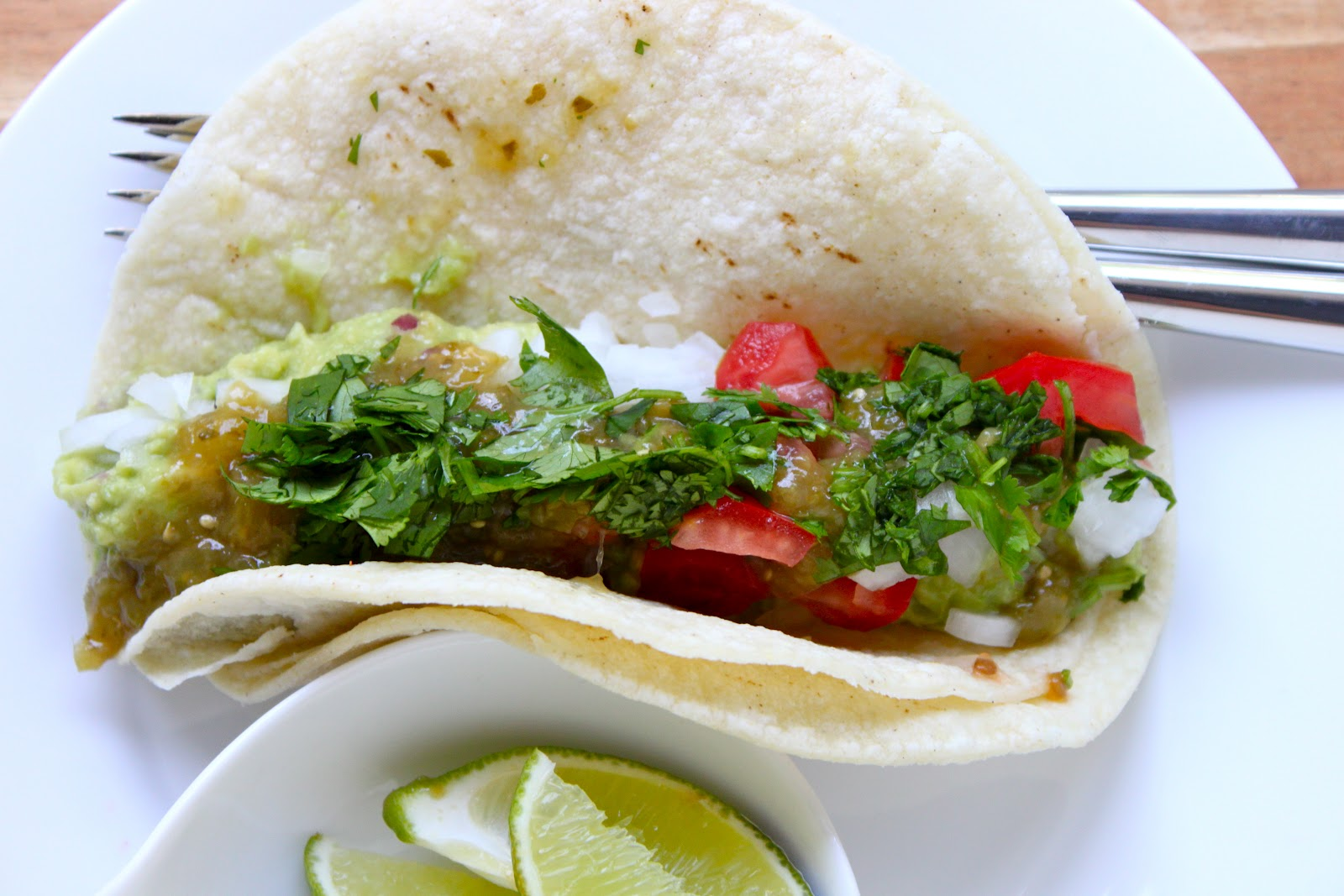 DebaRooRoo: Vegetarian Taco Truck Tacos
