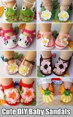 DIY Baby Sandals