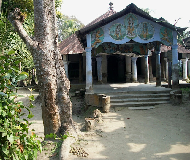 Image of Kamalabari Satra which is believed to be built by one of Madhavdev's ardent disciples, Badula Padma At a.