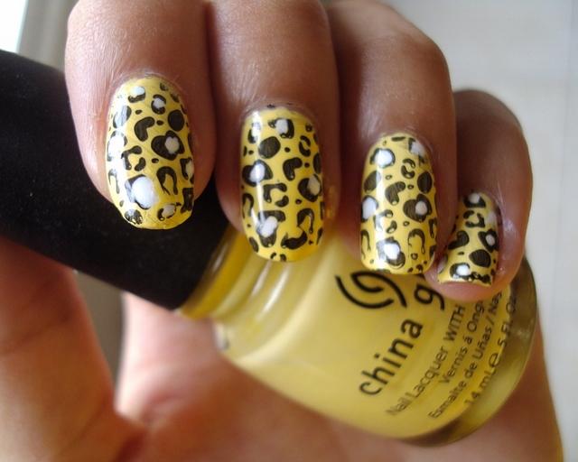 The Breathtaking 2015 cheetah print nail designs Photograph