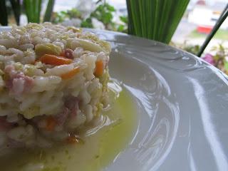 risotto verza e salsiccia