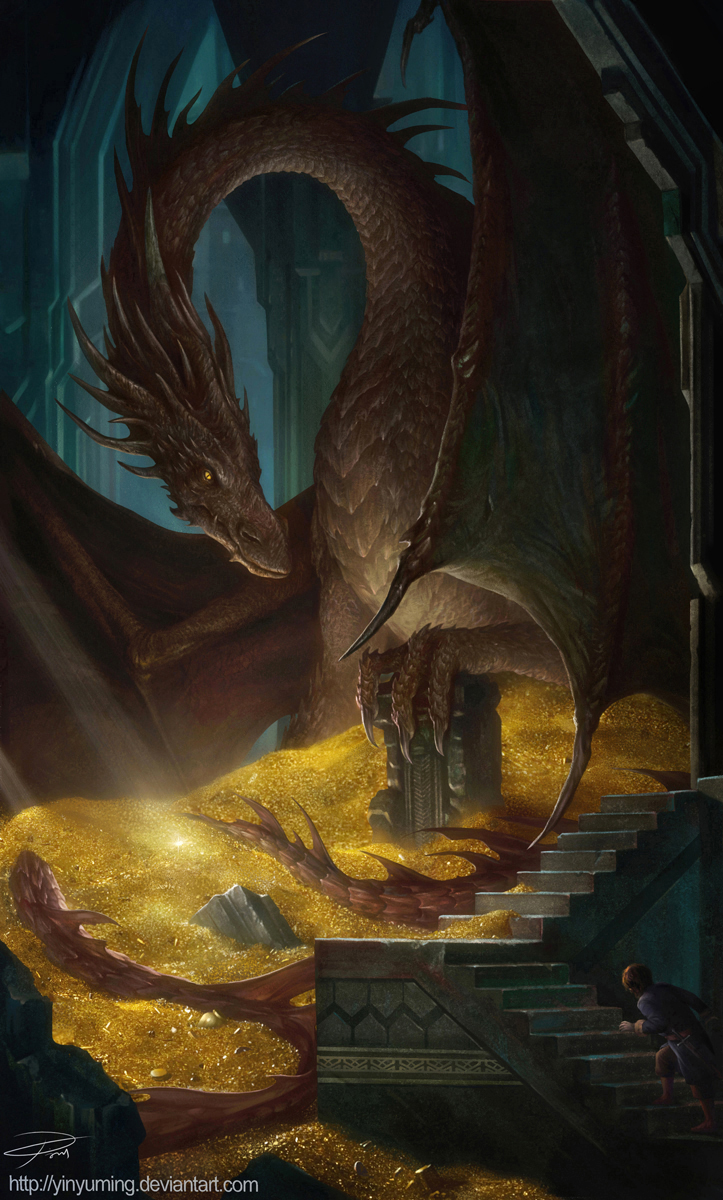 smaug the dragon hobbit - photo #10