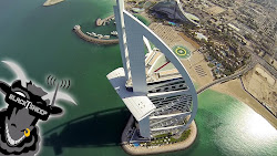 DUBAI VISTA AÉREA desde un dron