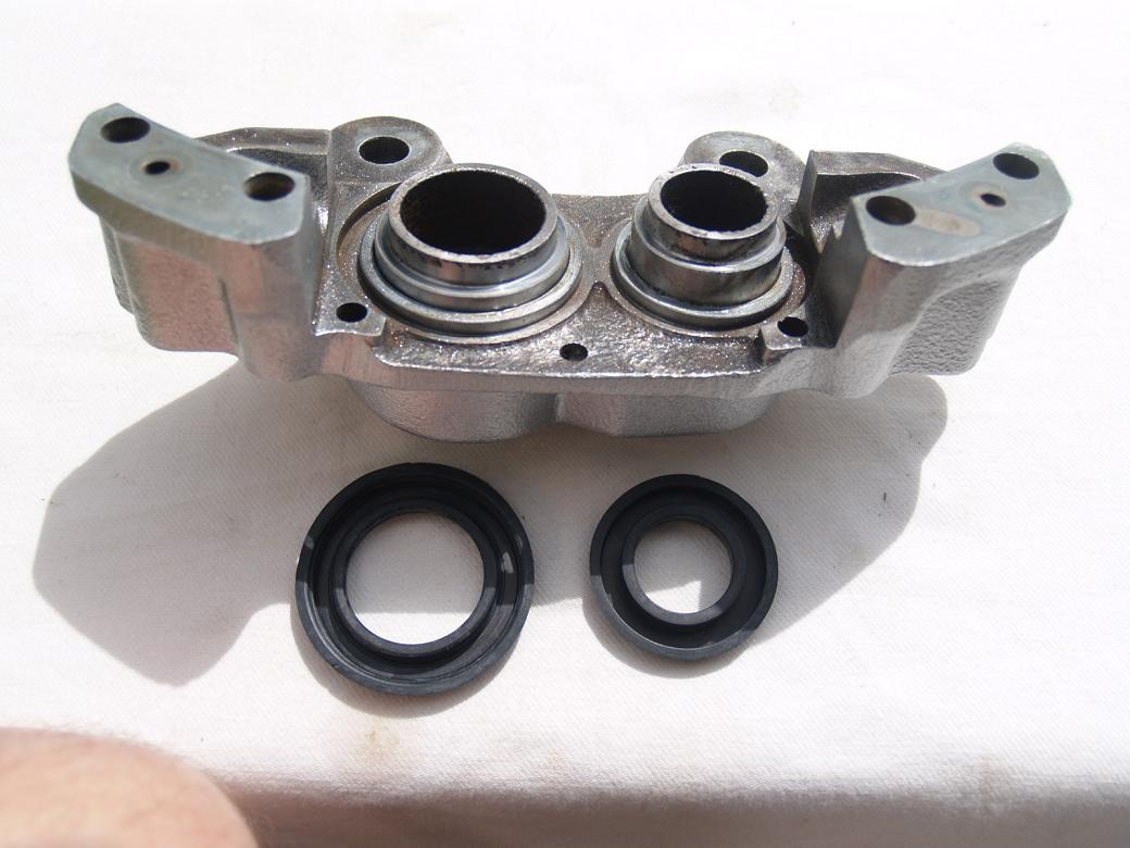 Brake Upgrade Full Toyota 4y Supercharged Rebuild Engine Timing Marks When Re Installing The Pistons I Found It Very Helpful To Have A G Clamp Handy Greased Up New Piston Seals With Pbr Grease Instillation Of These