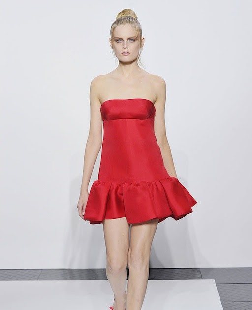 The Terrier and Lobster: Valentino Red Dresses