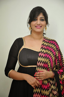 Playback Singer Divya Pictures in Black Salwar Kameez at Aagadu Audio Launch  1).jpg