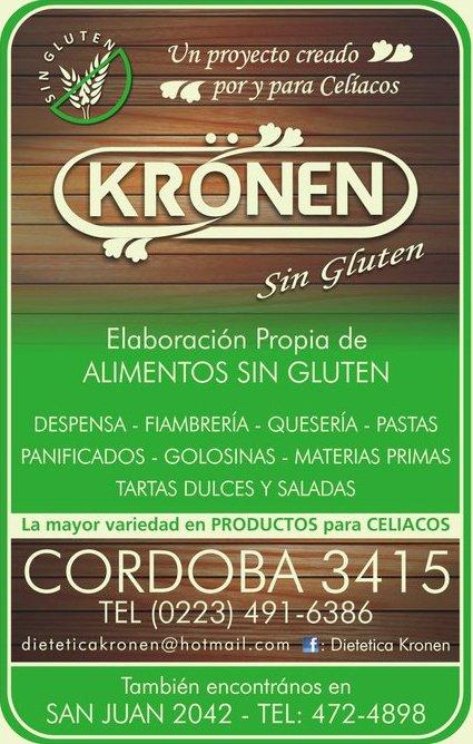 Kr nen sin gluten dietetica mar del plata lugares para cel acos - Alimentos sin gluten para celiacos ...