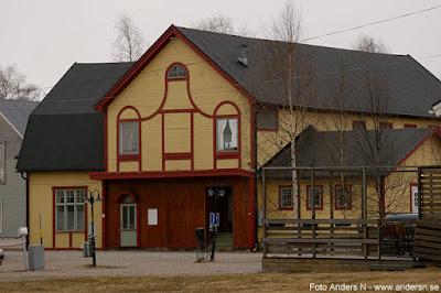 Gammal biograf Öjebyn Humlans cafe