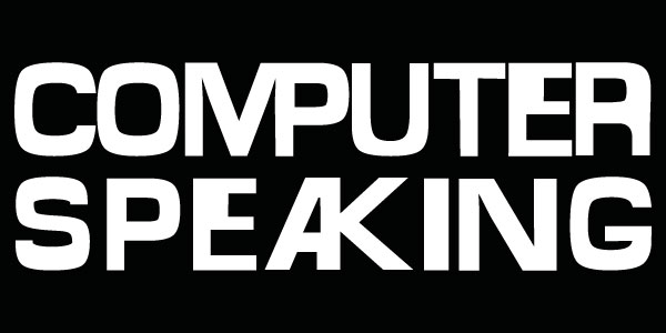 COMPUTER SPEAKING