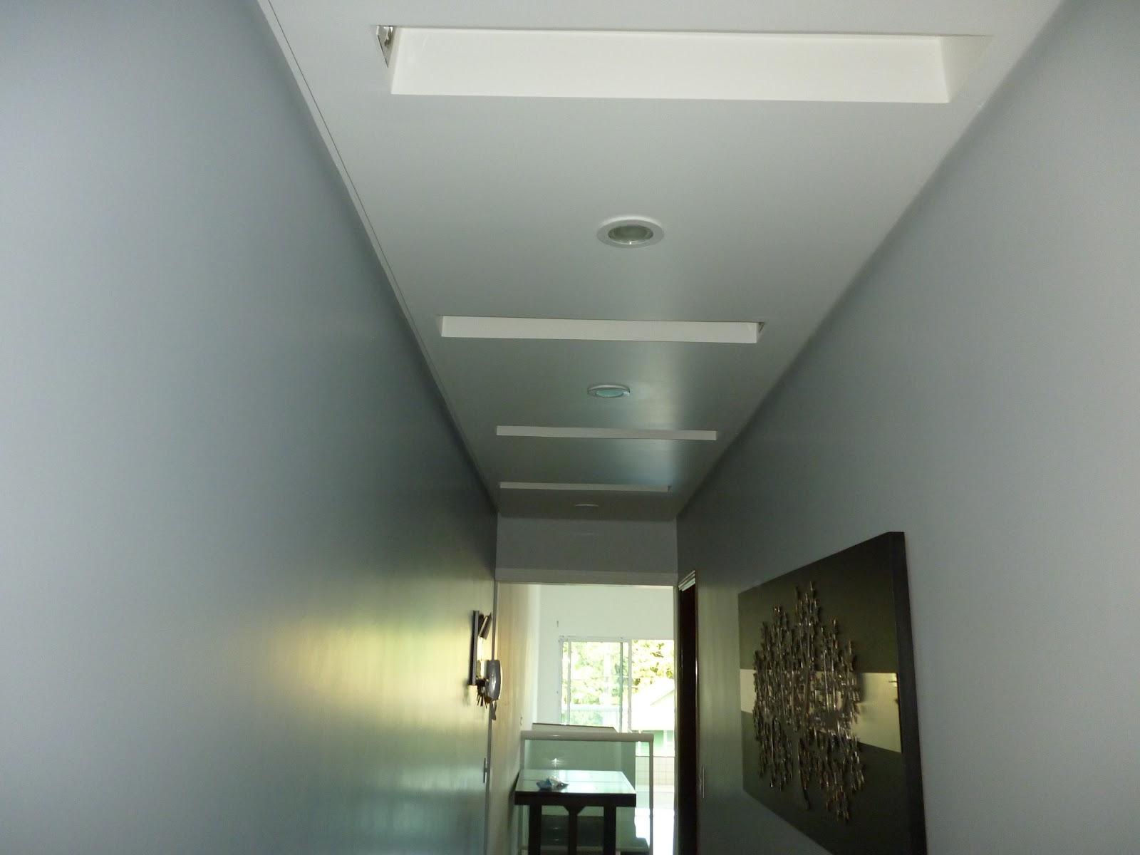 Pintura limpa Corredor de acesso aos quartos Pintado na  ~ Quarto Pintado Branco Gelo