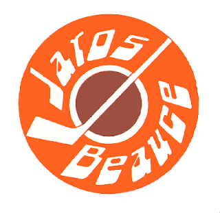beauce jaros north american hockey league nahl logo