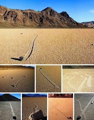 حجارة فى وادي الموت في أمريكا