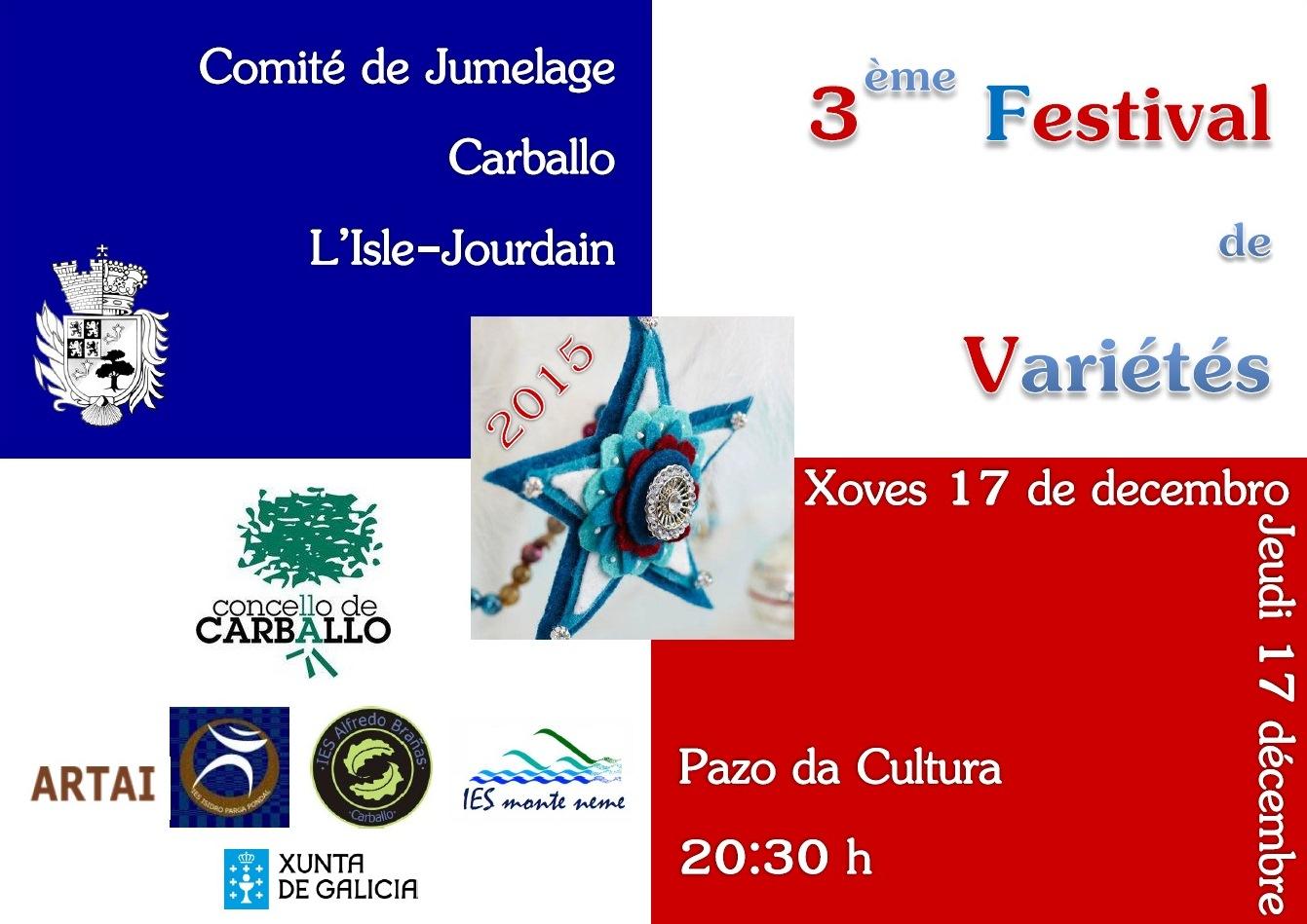 3ème Gala de Noël en Français à Carballo