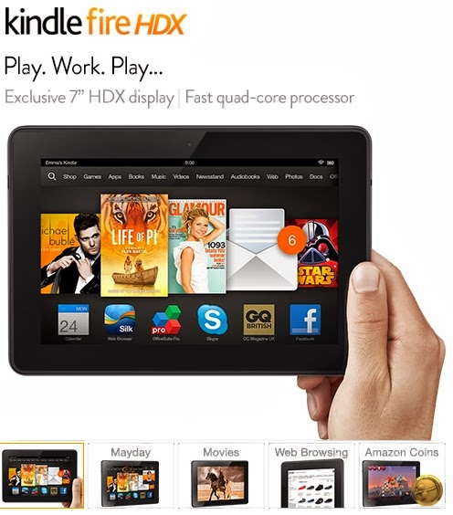 Making A Kindle Fire HD And Kindle