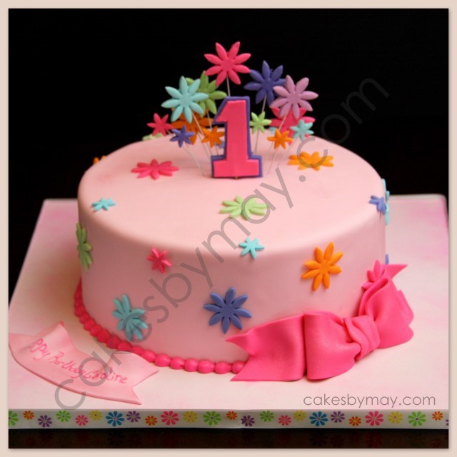 Birthday Cake Ideas For One Year Girl : Cakes by Maylene: Lots of Birthday Cakes this Weekend
