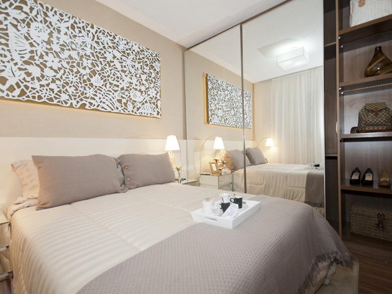 Decorar quartos de casal pequenos em um passe de m gica for Mobilia 50 ar