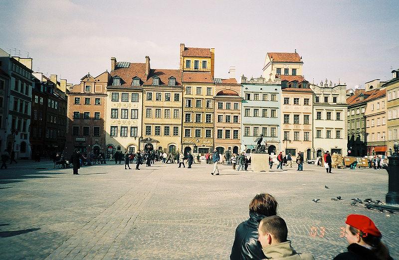 Warsaw Old Town Market