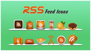 Simple and Stylish RSS Feed Icons