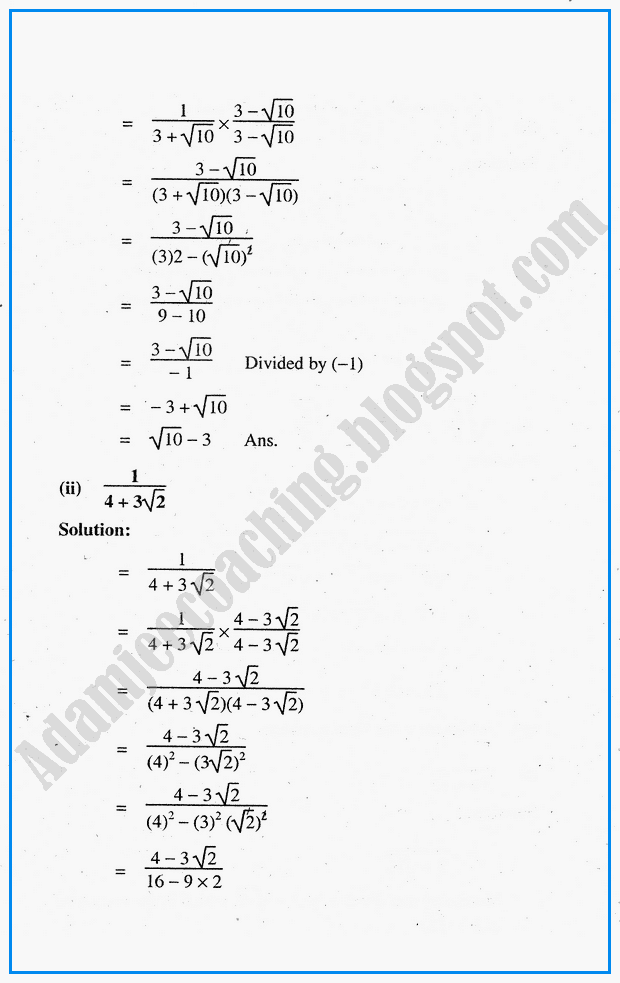 system-of-real-numbers-exponents-and-radicals-question-answers-mathematics-notes-for-class-10th