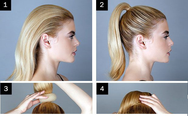 How To Make A Messy Bun With Long Straight Hair |Beautiful ...