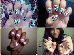 celebrity screen shot nails designs