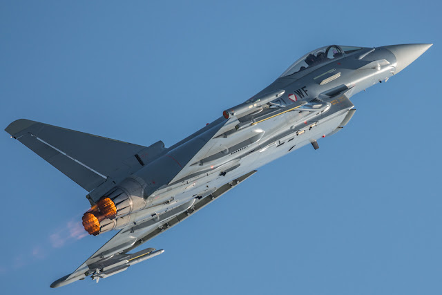 Eurofighter Typhoon afterburner