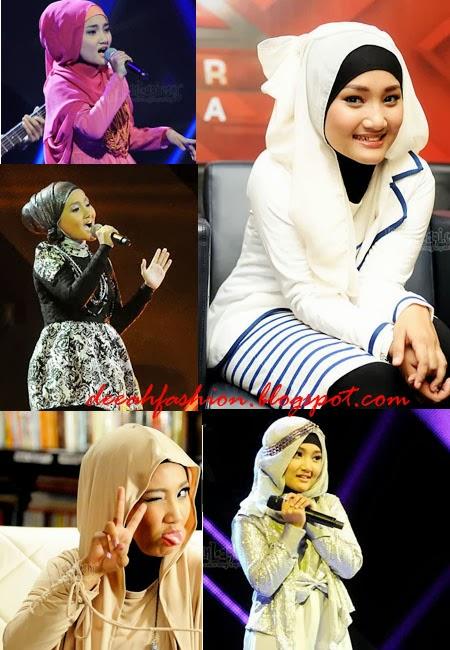 Model Jilbab Fatin Yang Populer