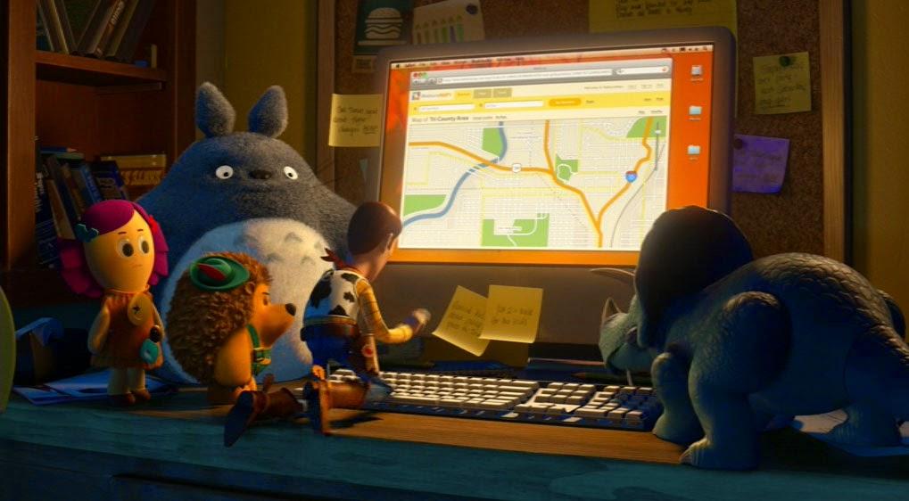 Totoro en Toy Story 3