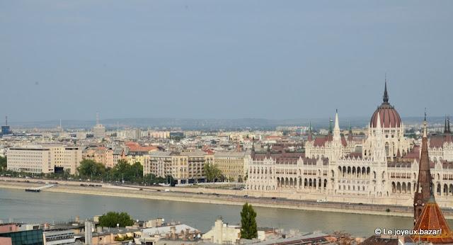 Budapest -vue sur le Parlement