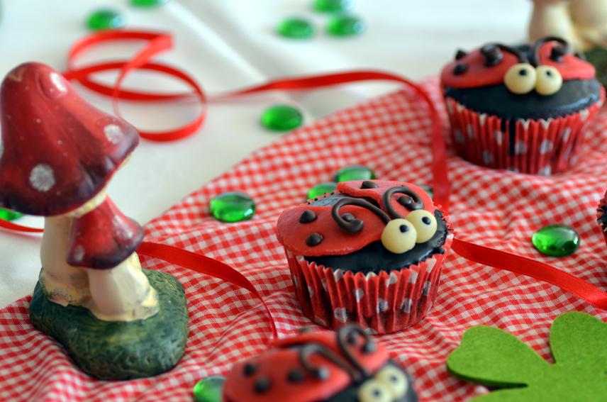 Käfer-Cupcakes