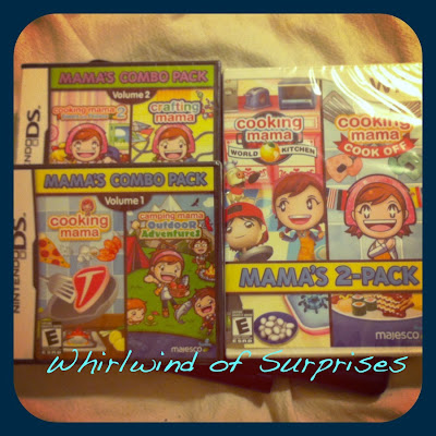 Cooking mama 2 pack games review for Nintendo Wii