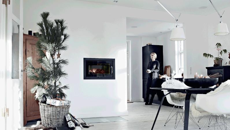 blog casa nórdica decorada para Navidad