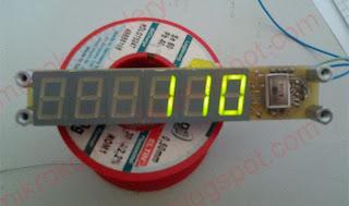 Wyświetlacz LED na 1-wire (by Dejmos)